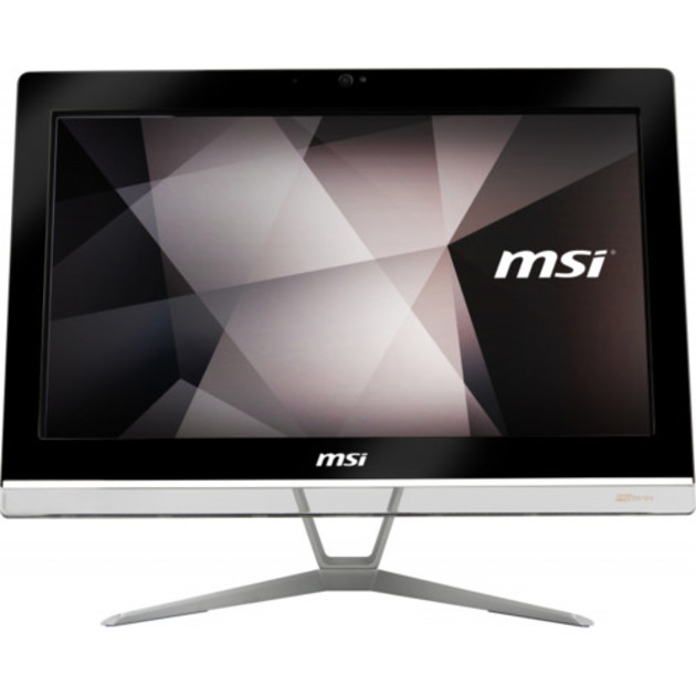 Моноблок MSI Pro 20EX 8GL-044RU   19.5(1600x900 (матовый))/Intel Pentium N5000(1.1Ghz)/4096Mb/1000Gb/DVDrw/Int:Intel HD/Cam/BT/WiFi/war 1y/6.96kg/Black/W10