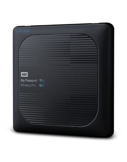 Жесткий диск WD Original USB 3.0 4Tb WDBSMT0040BBK-RESN My Passport Wireless Pro Wi-Fi 802.11 a/c 2.5 (Цвет: Black)