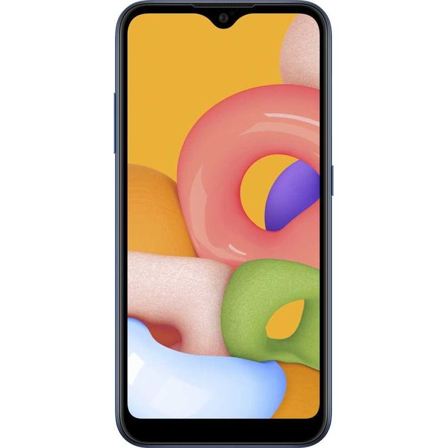Смартфон Samsung Galaxy M01 SM-M015F/DS 32Gb (Цвет: Blue)