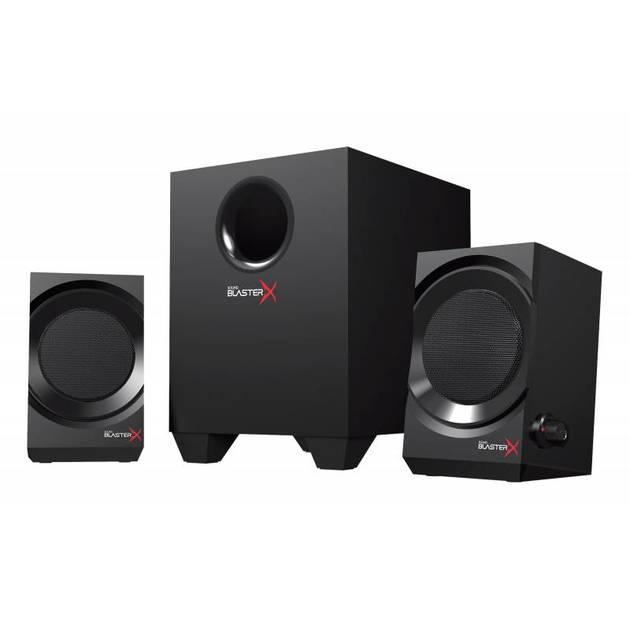 Колонки Creative Sound BlasterX Kratos S3 2.1 черный 46Вт
