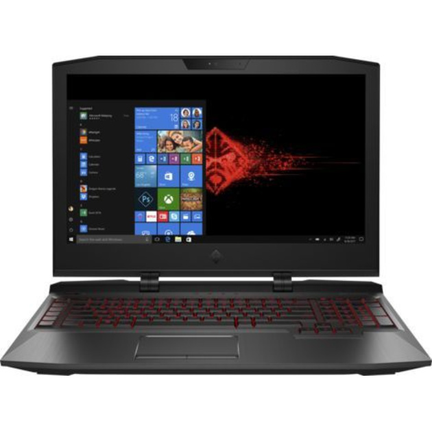 Ноутбук HP Omen X 17-ap012ur Core i7 7820HK/32Gb/nVidia GeForce GTX 1080 8Gb/17.3/IPS/FHD (1920x1080)/Windows 10/black/WiFi/BT/Cam