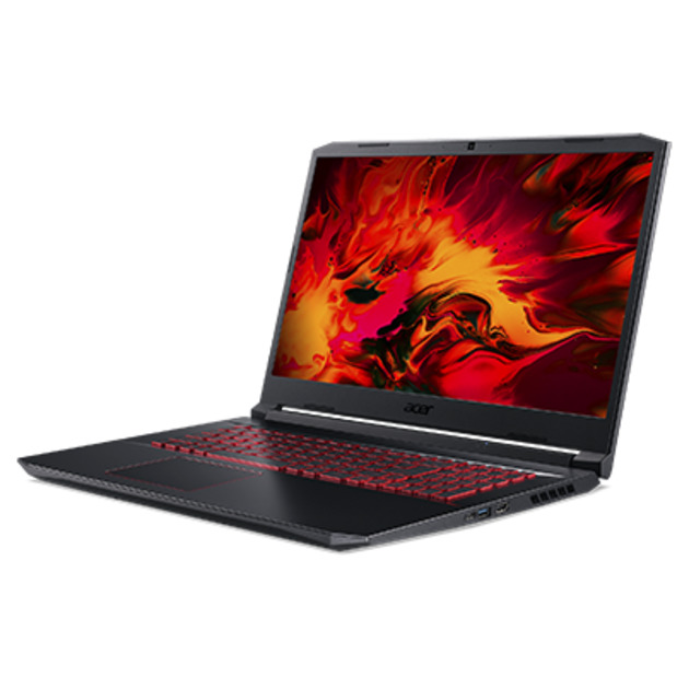 Ноутбук Acer Nitro 5 AN517-52-7688 Core i7 10750H/8Gb/SSD512Gb/NVIDIA GeForce RTX 3060 6Gb/17.3/IPS/FHD (1920x1080)/noOS/black/WiFi/BT/Cam/3560mAh