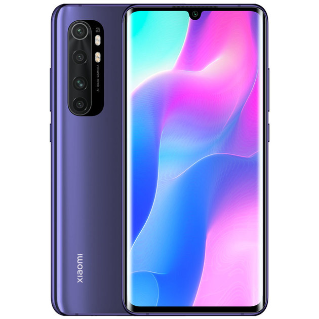 Смартфон Xiaomi Mi Note 10 Lite 6/128GB (Цвет: Nebula Purple)