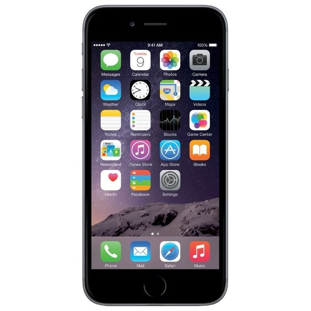 Смартфон Apple iPhone 6 32Gb MQ3D2RU/A (Цвет: Space Gray)