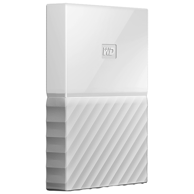 Жесткий диск WD Original USB 3.0 1Tb WDBBEX0010BWT-EEUE My Passport 2.5 (Цвет: White)