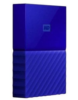 Жесткий диск WD Original USB 3.0 4Tb WDBUAX0040BBL-EEUE My Passport (5400rpm) 2.5 (Цвет: Blue)
