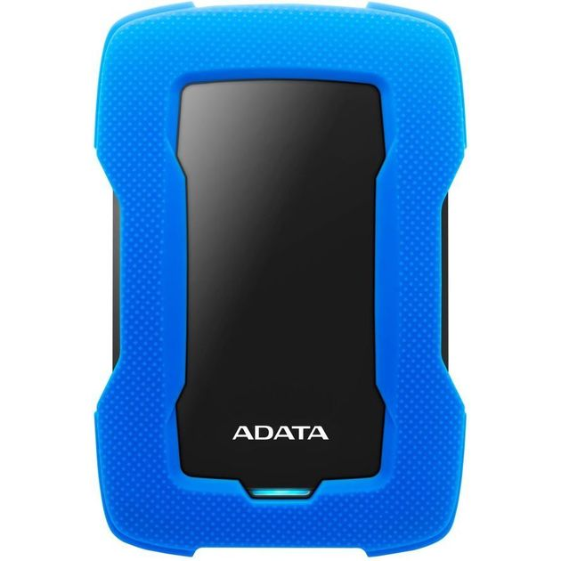 Жесткий диск A-Data USB 3.0 1Tb AHD330-1TU31-CBL HD330 DashDrive Durable 2.5 (Цвет: Blue)