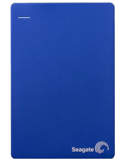Жесткий диск Seagate Original USB 3.0 2Tb STDR2000202 Backup Plus Slim 2.5 (Цвет: Blue)