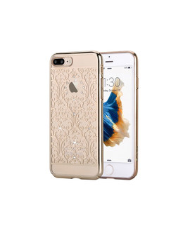 Чехол-накладка Devia Crystal Baroque iPhone 7 Plus/8 Plus (Цвет: Champagne Gold)