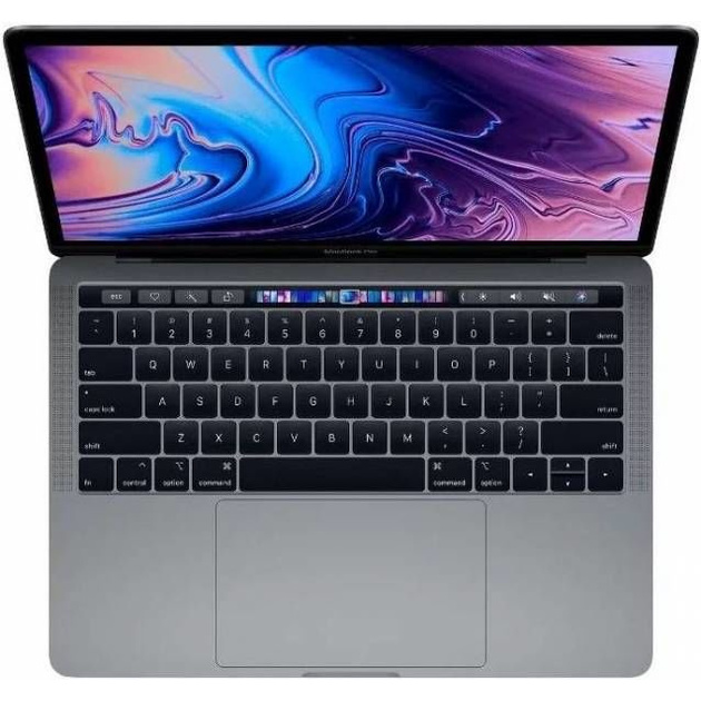 Ноутбук 13-inch MacBook Pro with Touch Bar: 1.4GHz quad-core 8th‑generation Intel Core i5 (TB up to 3.9GHz)/8Gb/128GB/Intel Iris Plus Graphics 645 - Space Grey