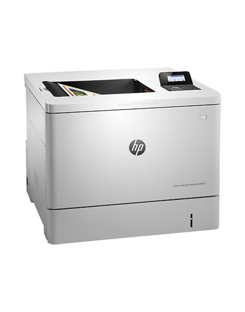 Принтер лазерный HP Color LaserJet Enterprise M553dn (B5L25A) (Цвет: White)