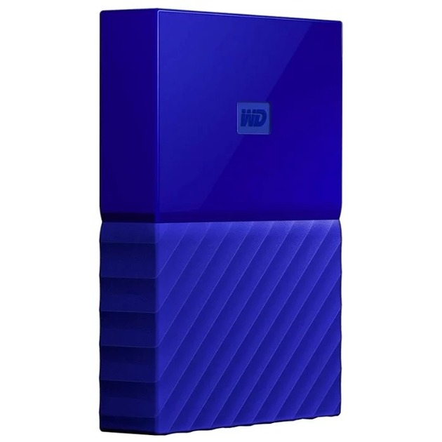 Жесткий диск WD Original USB 3.0 1Tb WDBBEX0010BBL-EEUE My Passport 2.5 (Цвет: Blue)