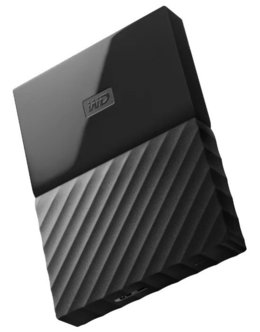 Жесткий диск WD Original USB 3.0 4Tb WDBUAX0040BBK-EEUE My Passport (5400rpm) 2.5 (Цвет: Black)
