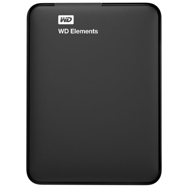 Жесткий диск WD USB 3.0 500Gb WDBUZG5000ABK-WESN Elements Portable 2.5 (WDBUZG50) 0074912