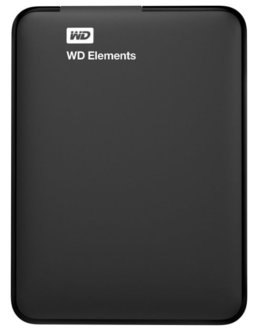 Жесткий диск WD Original USB 3.0 1Tb WDBUZG0010BBK-WESN Elements Portable 2.5 (Цвет: Black)