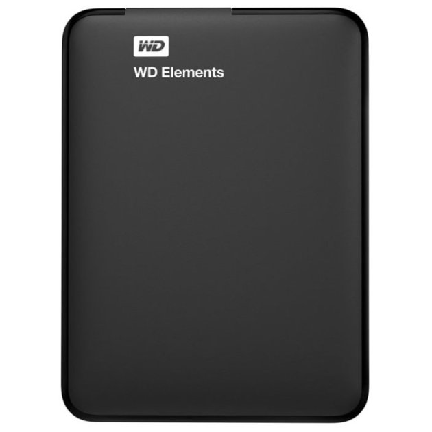 Жесткий диск WD USB 3.0 1Tb WDBUZG0010BBK-WESN Elements Portable 2.5 (Ц (WDBUZG00) 0074913