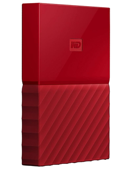 Жесткий диск WD Original USB 3.0 1Tb WDBBEX0010BRD-EEUE My Passport 2.5 (Цвет: Red)