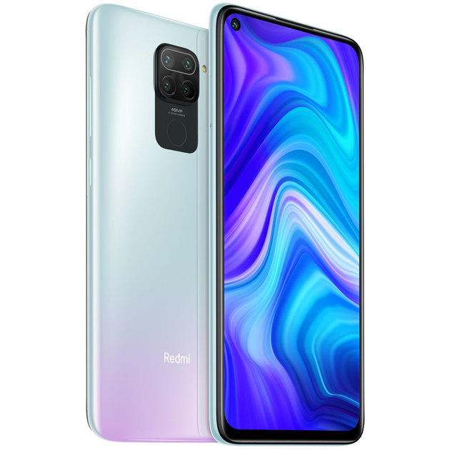 Смартфон Xiaomi Redmi Note 9 4/128Gb RU (Цвет: Polar White)