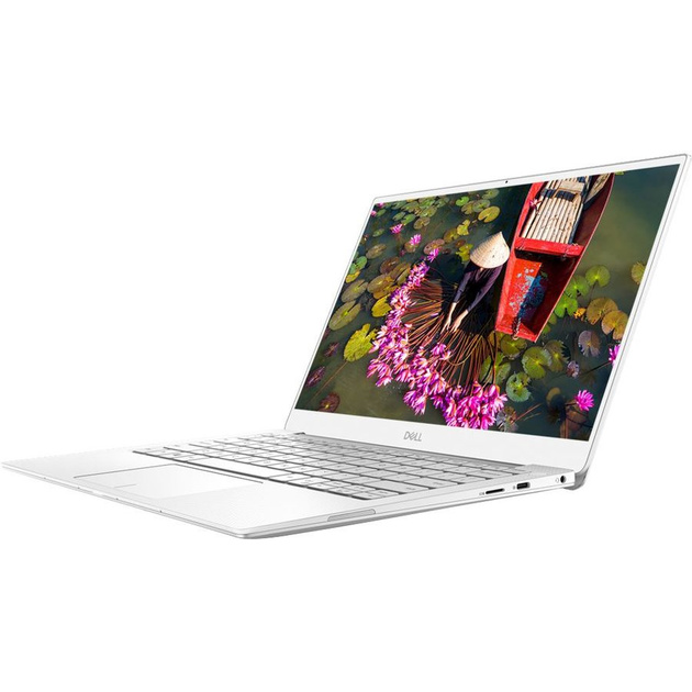 Ультрабук Dell XPS 13 Core i7 8565U/8Gb/SSD256Gb/Intel UHD Graphics 620/13.3/FHD (1920x1080)/Windows 10/silver/WiFi/BT/Cam