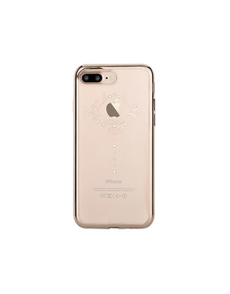 Чехол-накладка Devia Crystal Iris Soft Case iPhone 7 Plus/8 Plus (Цвет: Champagne Gold)