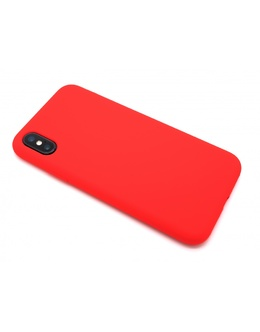 Накладка Devia Nature case Silicon Case iPhone X/XS (Цвет: Red)