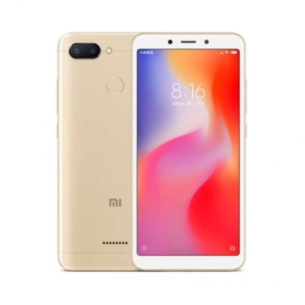 Смартфон Xiaomi Redmi 6 3/64Gb Global (Цвет: Gold)