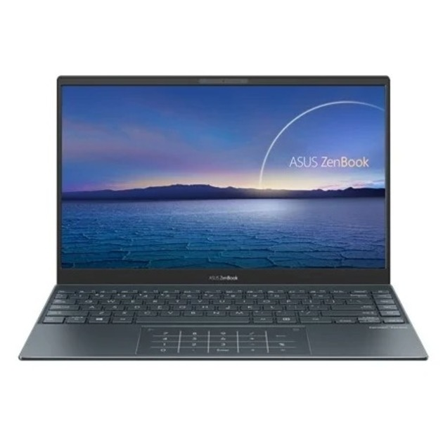 Ноутбук Asus Zenbook UX325JA-EG109T Core i5 1035G1/8Gb/SSD256Gb/Intel UHD Graphics/13.3/IPS/FHD (1920x1080)/Windows 10/grey/WiFi/BT/Cam