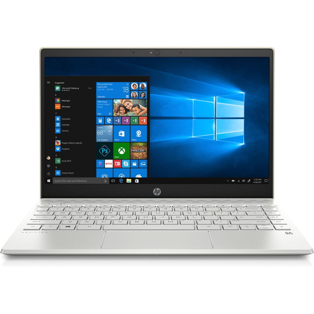 Ноутбук HP Pavilion 13-an0037ur Core i7 8565U/8Gb/SSD256Gb/Intel UHD Graphics 620/13.3/FHD (1920x1080)/Windows 10/gold/WiFi/BT/Cam