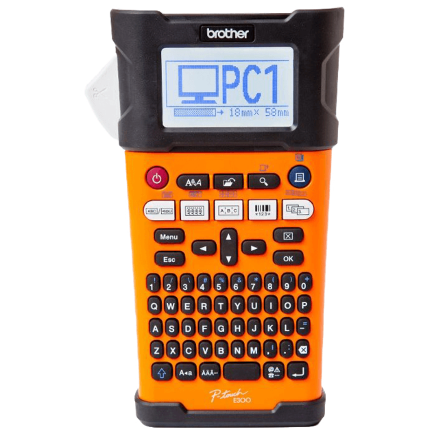 Принтер Brother P-touch PT-E300VP (Цвет: Black)