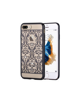 Чехол-накладка Devia Crystal Baroque для смартфона iPhone 7 Plus/8 Plus (Цвет: Gun Black)