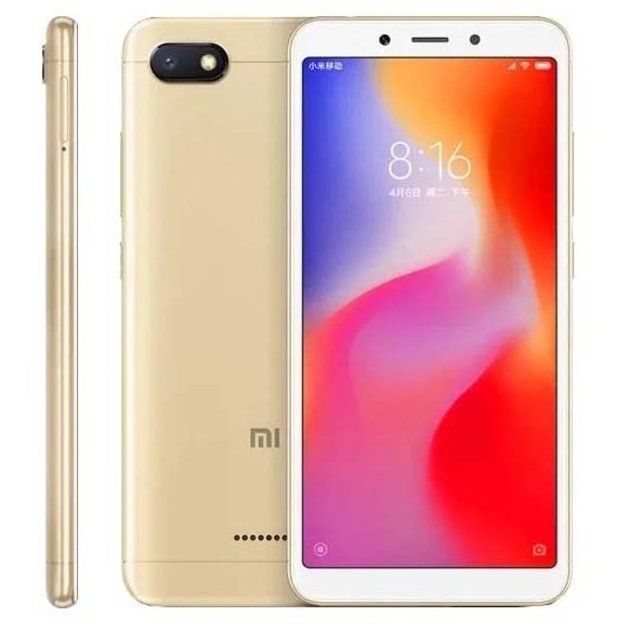 Смартфон Xiaomi Redmi 6A 2/32Gb Global (Цвет: Gold)