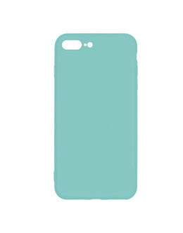 Чехол-накладка Pero Soft Touch для смартфона iPhone 7 Plus/8 Plus (Цвет: Turquoise)