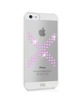 Чехол-накладка White Diamonds X Series iPhone 5/5s/SE (Цвет: Pink)