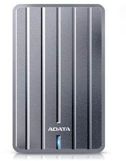 Жесткий диск A-Data USB 3.0 2Tb AHC660-2TU31-CGY DashDrive Durable (5400rpm) 2.5 (Цвет: Gray)
