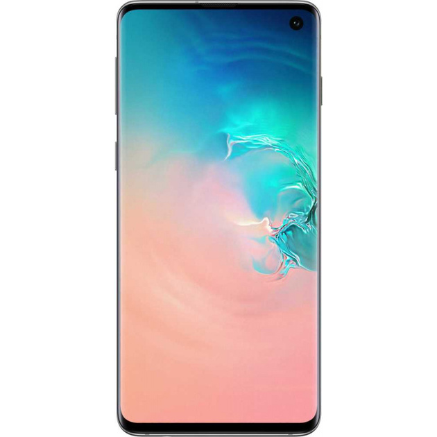 Смартфон Samsung Galaxy S10 8/128Gb (Цвет: Prism White)
