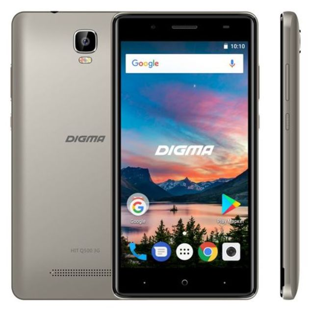 Смартфон Digma Hit Q500 3G 8Gb (Цвет: Gray)