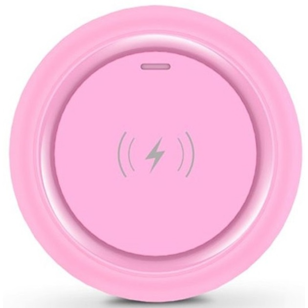 Беспроводная зарядка Devia Allen Wireless Ultra Thin Charger 5W pink