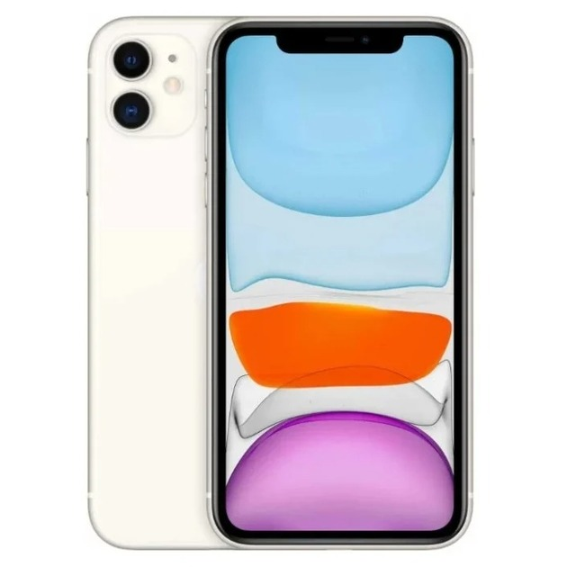 Смартфон Apple iPhone 11 64Gb MHDC3RU/A (Цвет: White)