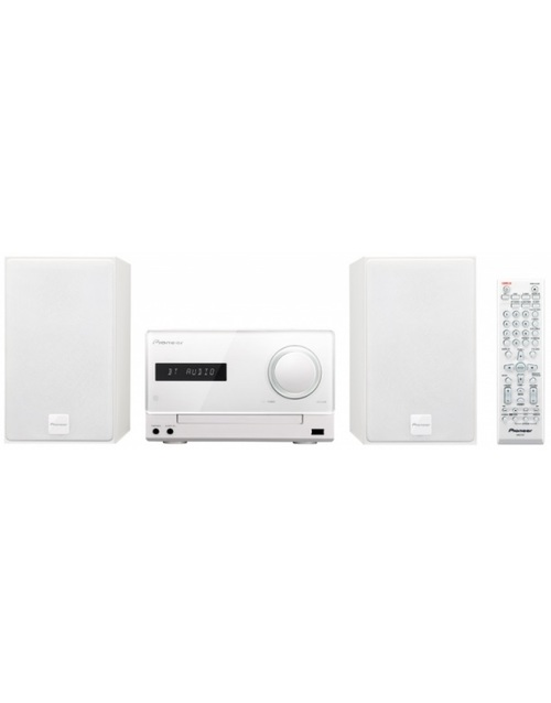Микросистема Pioneer X-CM35-W белый 30Вт/CD/CDRW/FM/USB/BT