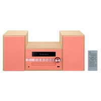 Микросистема Pioneer X-CM56-R красный 30Вт/CD/CDRW/FM/USB/BT