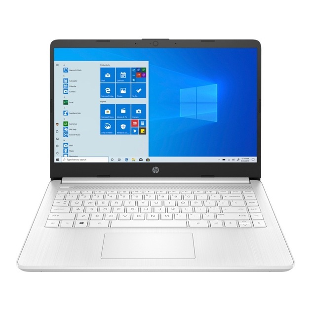 Ноутбук HP 14s-dq0043ur Pentium Silver N5030/4Gb/SSD256Gb/Intel UHD Graphics/14/IPS/FHD (1920x1080)/Windows 10/white/WiFi/BT/Cam