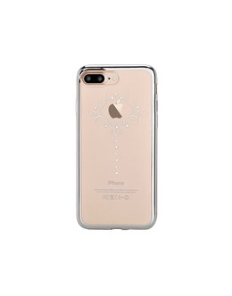 Чехол-накладка Devia Crystal Iris Soft Case для смартфона iPhone 7 Plus/8 Plus (Цвет: Silvery)