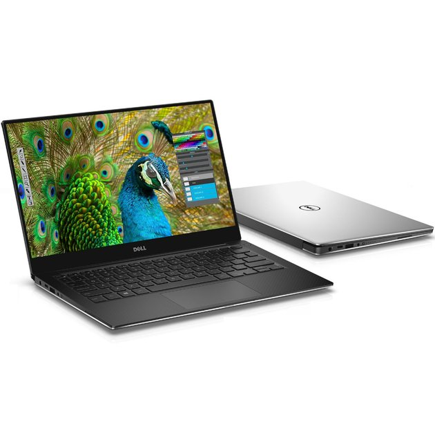 Ультрабук Dell XPS 15 Core i5 8300H/8Gb/1Tb/SSD128Gb/nVidia GeForce GTX 1050 4Gb/15.6/IPS/FHD (1920x1080)/Windows 10 Professional/silver/WiFi/BT/Cam