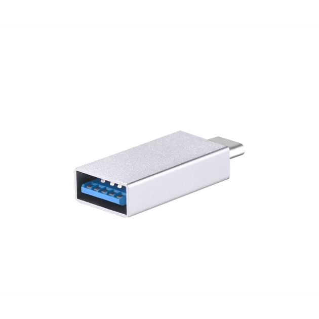 Переходник Devia Itec Type-C to USB 3.0 Adapter silver