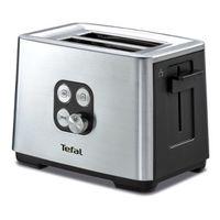 Тостер Tefal TT420D30 900Вт серебристый