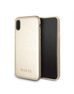 Накладка CG Mobile Guess Iridescent Hard PU iPhone XR (Цвет: Gold)