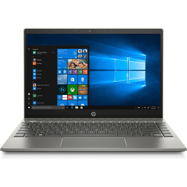 Ноутбук HP Pavilion 13-an0082ur Core i3 8145U/4Gb/SSD128Gb/Intel UHD Graphics 620/13.3/IPS/FHD (1920x1080)/Windows 10/gold/WiFi/BT/Cam