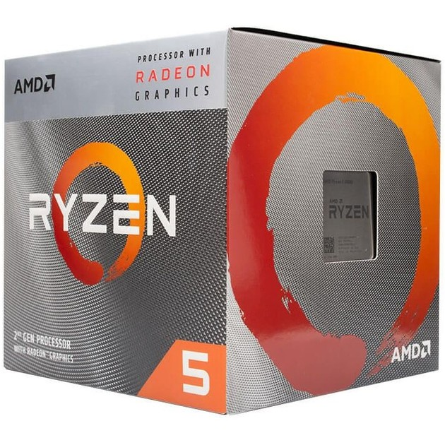 Процессор AMD Ryzen 5 3400G AM4 (YD3400C5FHBOX) Box