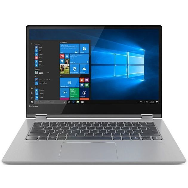 Трансформер Lenovo Yoga 530-14ARR Ryzen 5 2500U/8Gb/SSD256Gb/AMD Radeon Vega 8/14/IPS/Touch/FHD (1920x1080)/Windows 10/black/WiFi/BT/Cam