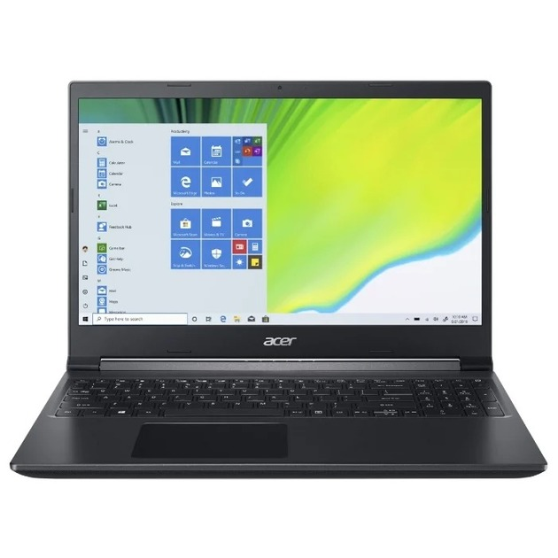 Ноутбук Acer Aspire 7 A715-75G-529J Core i5 10300H/8Gb/SSD256Gb/NVIDIA GeForce GTX 1650 Ti 4Gb/15.6/IPS/FHD (1920x1080)/Eshell/black/WiFi/BT/Cam